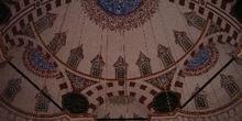 Interior de Sehzade Camii, Estambul, Turquía