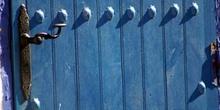 Detalle de portón, Venta de Don Quijote, Puerto Lápice, Ciudad R