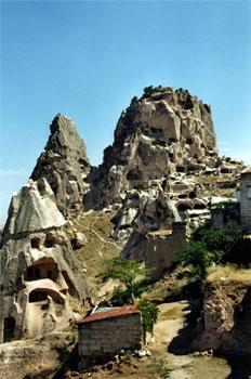 Uchisar, Capadocia, Turquía