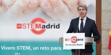 Vídeo del acto de presentación del Plan STEMadrid