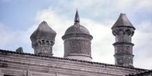 Chimeneas del Palacio de los Duques de San Carlos - Trujillo, Cá