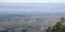 Vista del Pirineo desde Moncayo, Huesca