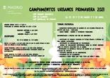 CAMPAMENTOS URBANOS PRIMAVERA 2021