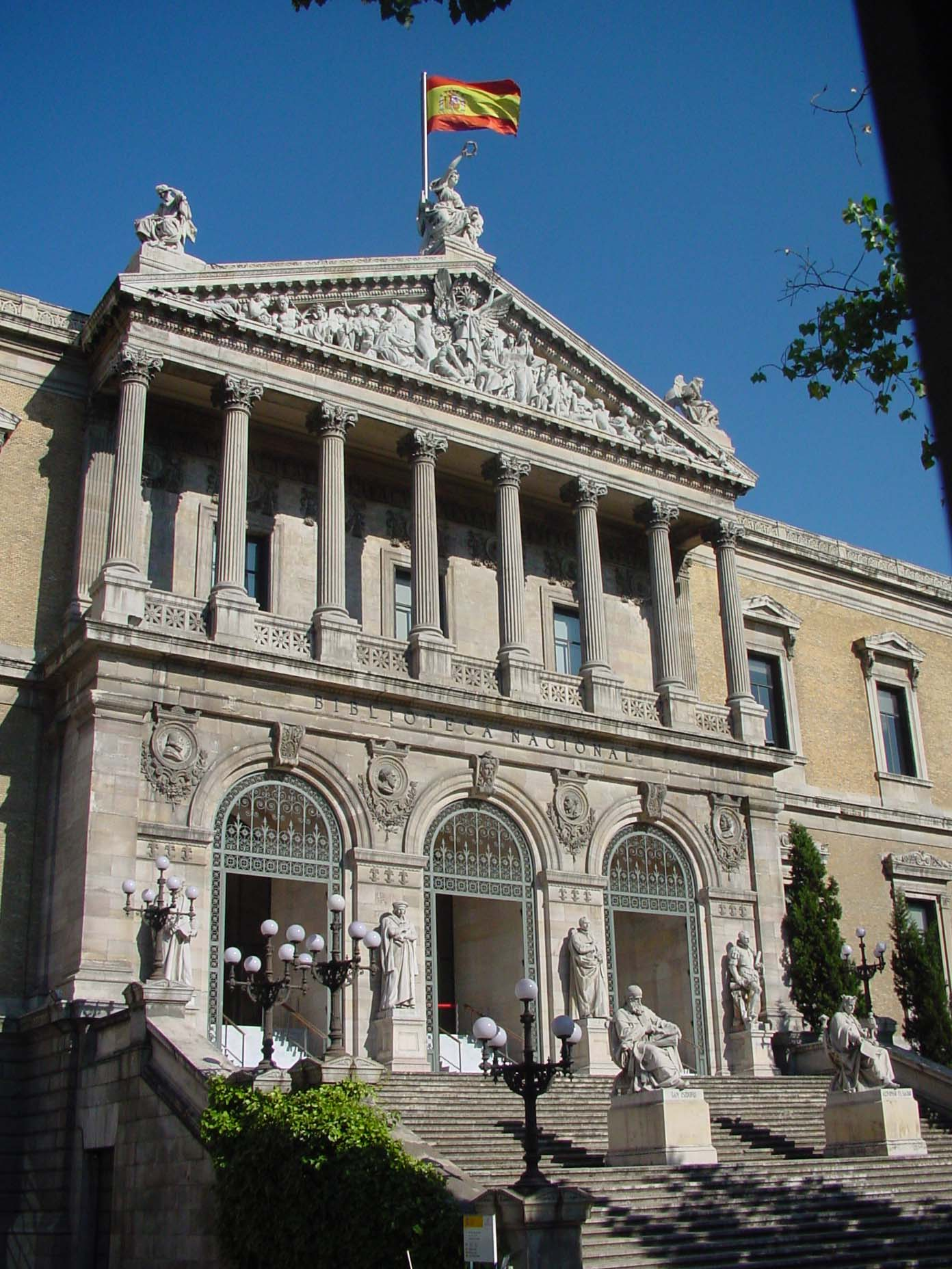 Biblioteca Nacional de España en Madrid