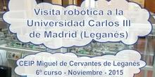 Visita robótica con Félix - UC3M