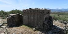 Fortificaciones de la Guerra Civil en Piñuecar-Gandullas (Frente Nacional) 8