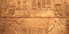 Relieve de Augusto faraón, Egipto