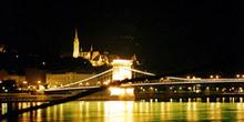Puente de las Cadenas, Budapest, Hungría