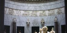 Estatua del Nilo, museos del Vaticano, Italia