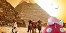 Jajá viaja a Egipto