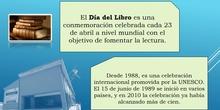 Día del Libro 2020. CEPA José Luis Sampedro. Madrid