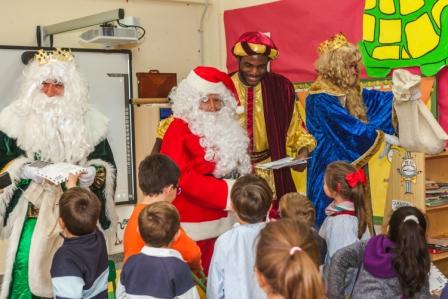 Los RRMM y Papá Noel en INF 5B 5