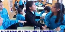 Escape Room 3° primaria ( EL ATAQUE ZOMBI)