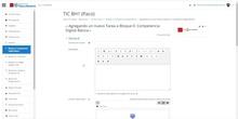 Aula Virtual Moodle: Copiar tareas sin perder el formato