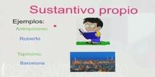 3ºS GRAMÁTICA.EL SUSTANTIVO. TERESA Y AMALIA FORNOVI