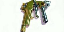 Pistola aerográfica de presión