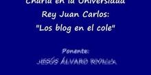 """COLEGIO JESÚS VARELA / \""""Charla URJC sobre los blog 1ª Parte\"""""""