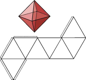 El octaedro y su desarrollo