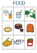 FOOD VOCABULARY GAME 1