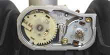 Actuador electrónico de mariposa de gases. Detalle interior