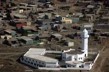 Mezquita de arrabal, Rep. de Djibouti, áfrica