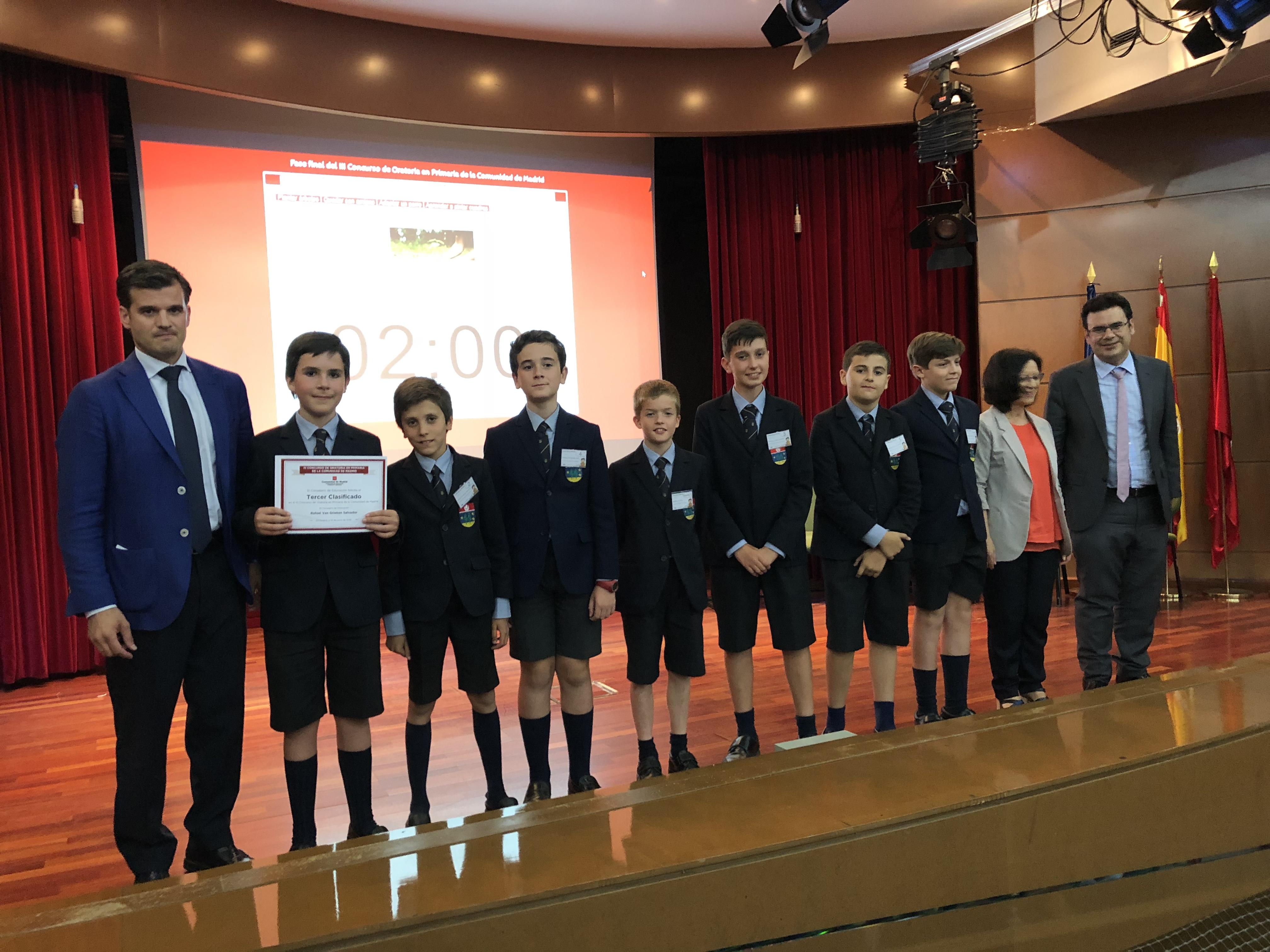 Fase final del III Concurso de Oratoria en Primaria de la Comunidad de Madrid 23