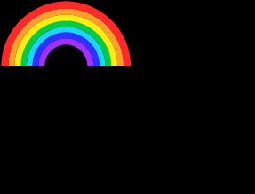 A por los arcoíris.