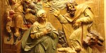 Detalle del retablo de la Catedral de Jaén, Andalucía