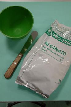 Taza y esp tula de alginato mediateca de educamadrid for Calco con alginato