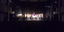 El coro del colegio en el Certamen de Villancicos