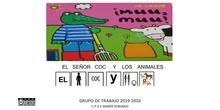 El señor Coc y los animales con pictogramas