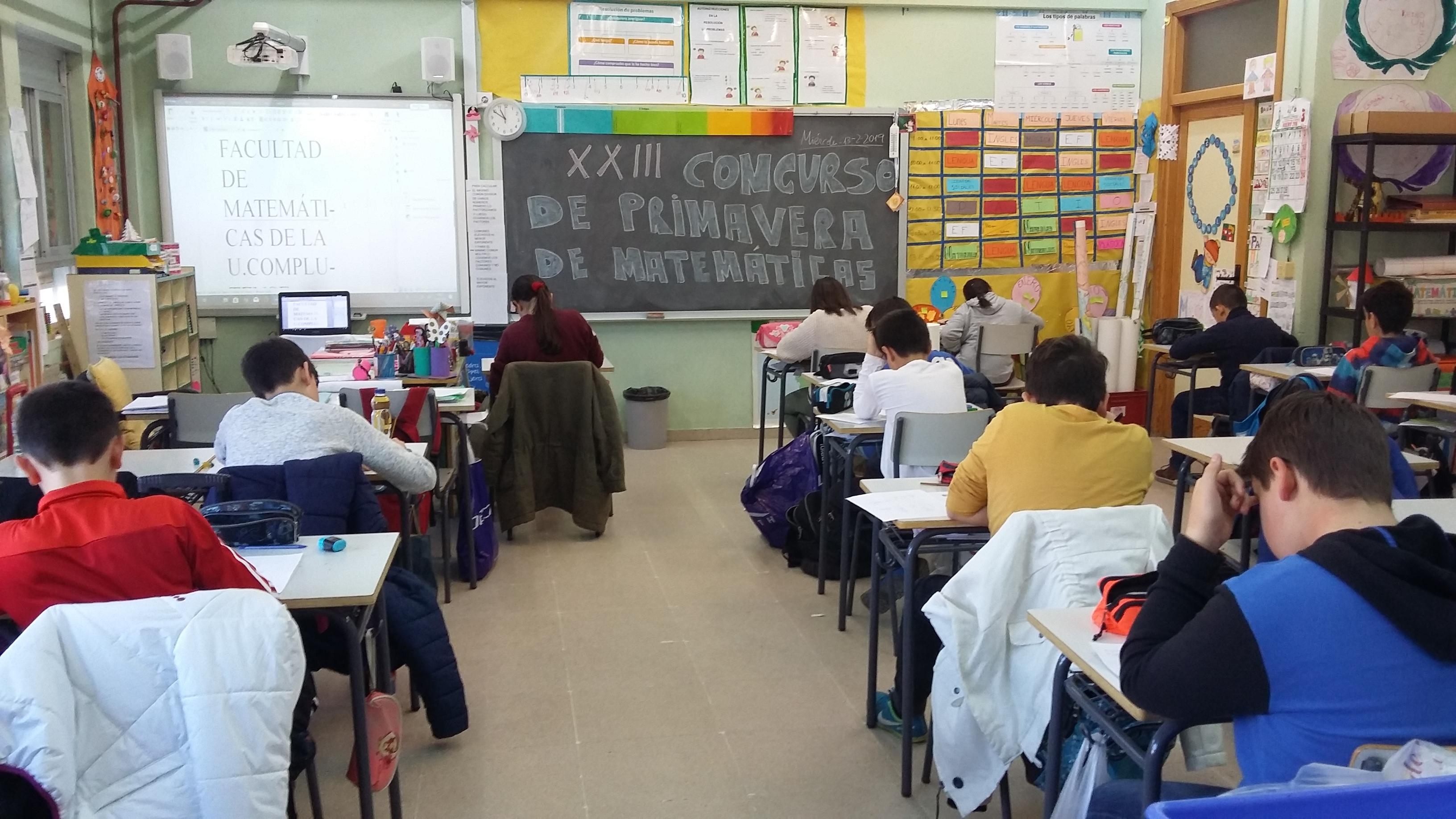 XXIII del Concurso de Primavera de Matemáticas
