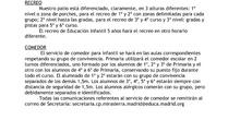 Información para el primer día de curso Colegio Mirasierra