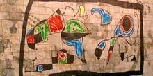 Mural de la Fundación Pilar y Joan Miró, Palma de Mallorca