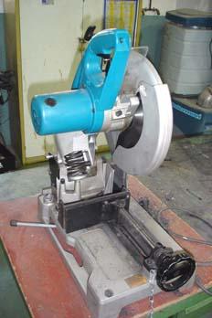 Sierra circular de corte para metal