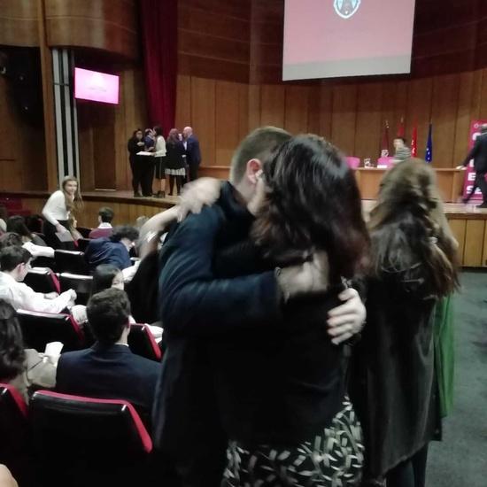 Reconocimiento Académico UCM a nuestro alumno Alex Nita y al Caustro de profesores del IES Francisco de Quevedo3