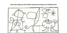 Miró shapes