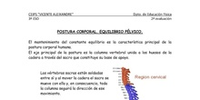 Apuntes Corrección postural 3º ESO