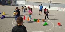 Visita basket sanfer primero B