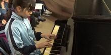 Jornadas Culturales concierto de alumnos piano