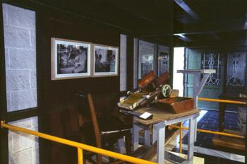 Encartuchadora de pólvora, Museo de la Minería y de la Industria