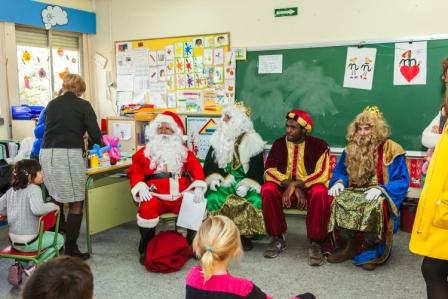 Los RRMM y Papá Noel en INF 5A 42