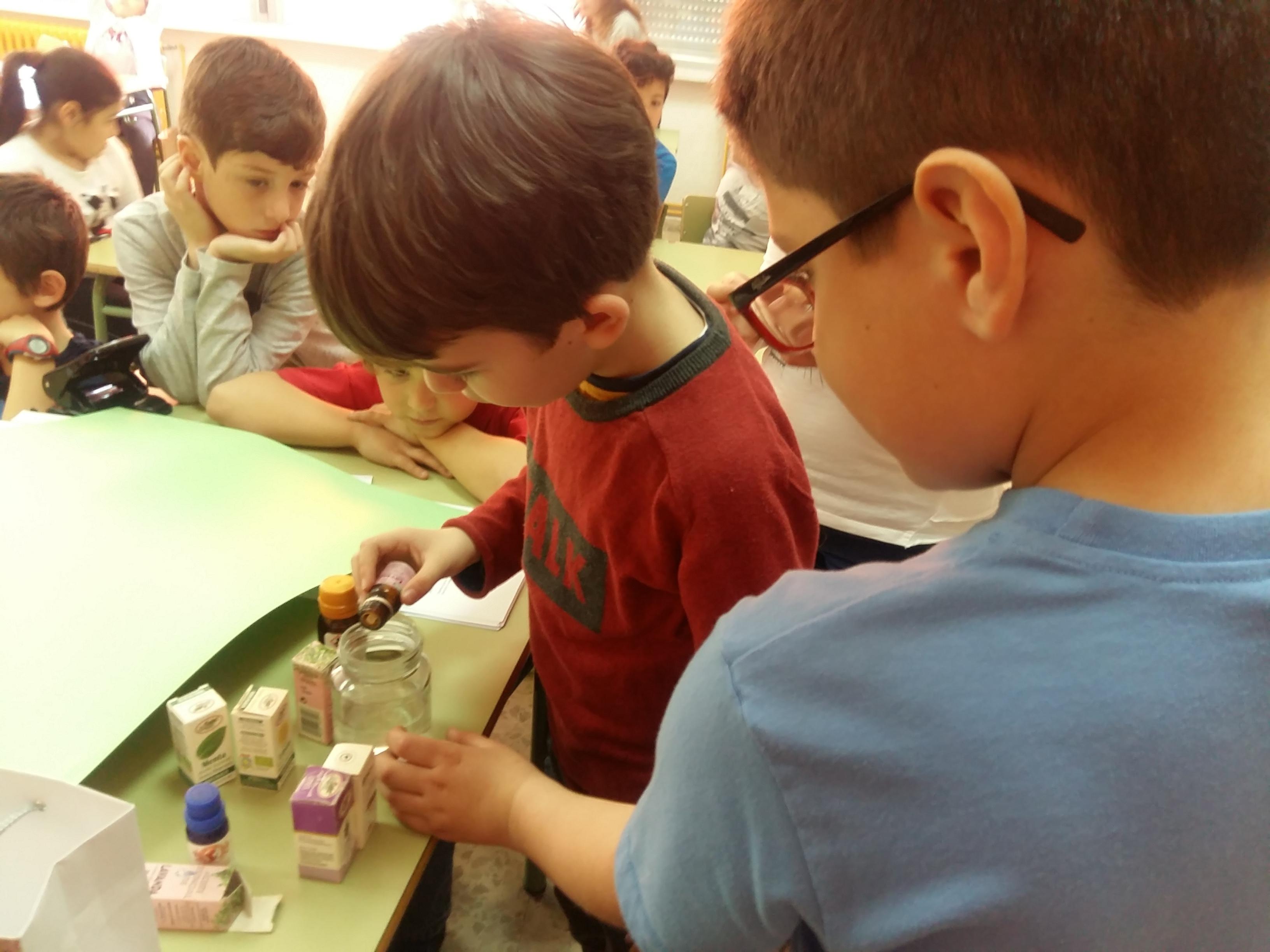 Science experiments. Parfum. 18