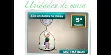 PRIMARIA 5 - UNIDADES DE MASA - MATEMÁTICAS