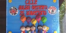 Placa 25º Aniversario