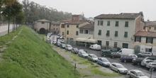 Centro histórico desde los muros, Lucca