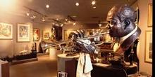 Exposición de música jazz en Nueva Orleáns