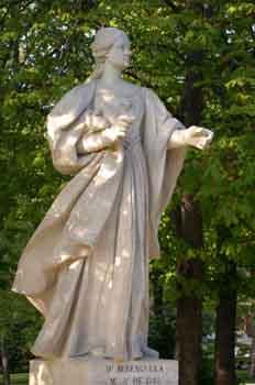Monumento a Doña Berenguela, esposa del rey Alfonso VII