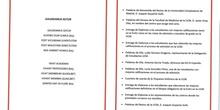 Reconocimiento Académico UCM  al Caustro de profesores del IES Francisco de Quevedo y a nuestro alumno Alex Nita 4