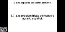0507 Las problemáticas del medio rural en España